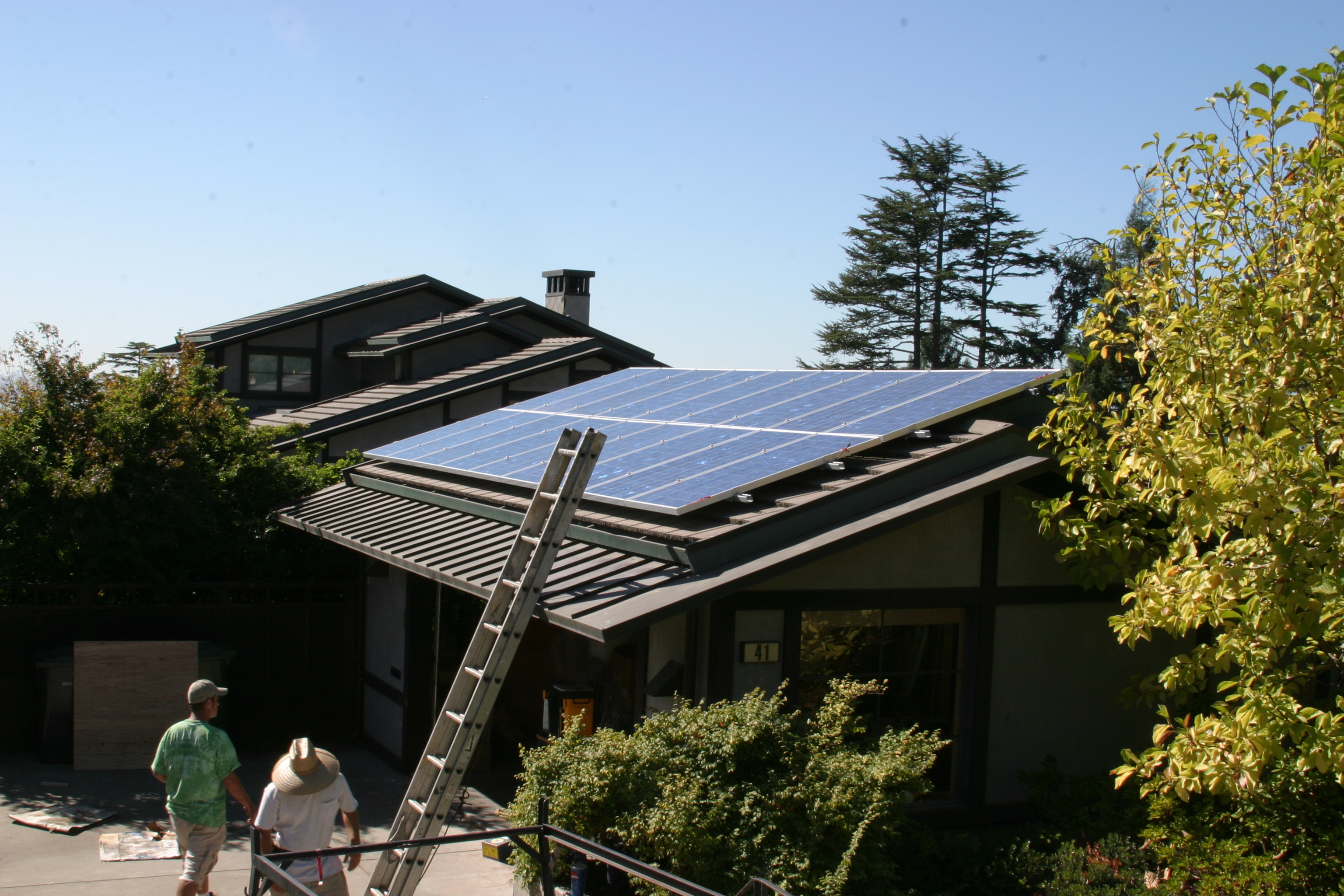 2 5KW Solar Installation on My Garage Roof